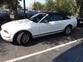 2006 Performance White Ford Mustang V6 Premium Convertible  photo #9