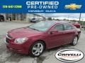 Red Jewel Tintcoat 2011 Chevrolet Malibu LT