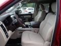 Canyon Brown/Light Frost Beige Front Seat Photo for 2014 Ram 1500 #84590123