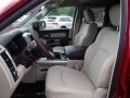 Front Seat of 2014 1500 Laramie Quad Cab 4x4
