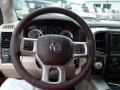 Canyon Brown/Light Frost Beige Steering Wheel Photo for 2014 Ram 1500 #84590332