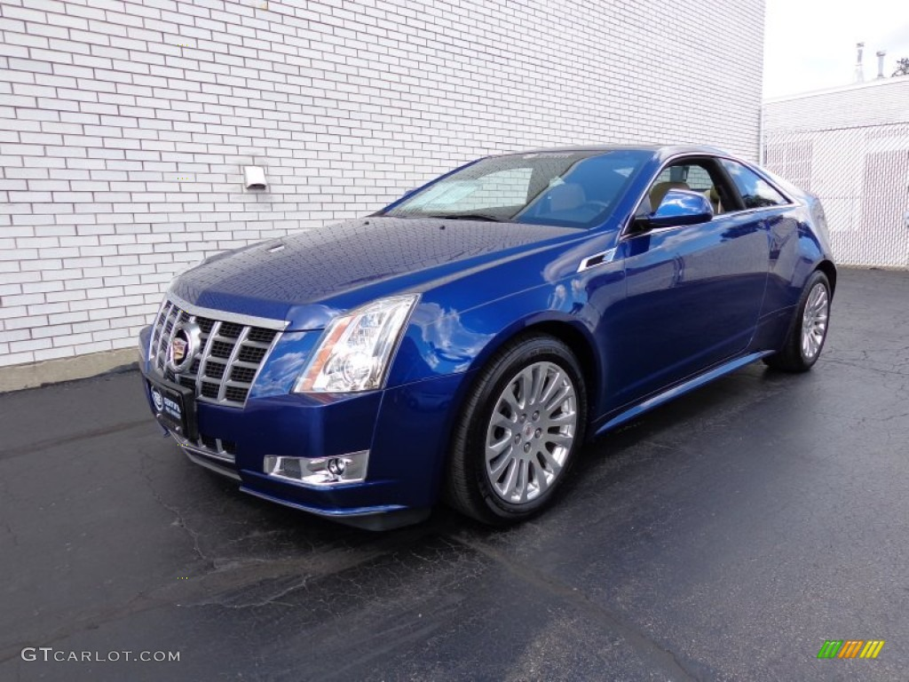 2012 Cadillac Cts Coupe Blue 200 Interior And Exterior