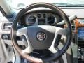 2014 Cadillac Escalade Cocoa/Light Linen Interior Steering Wheel Photo