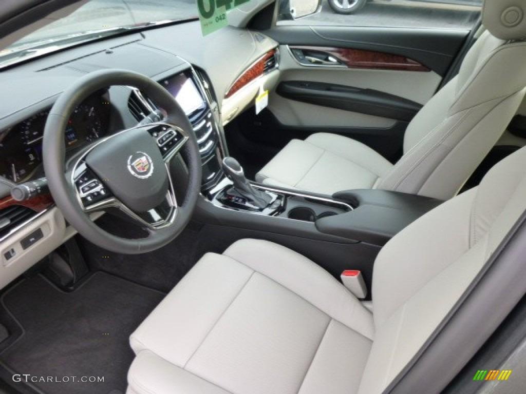 Light Platinum/Jet Black Interior 2014 Cadillac ATS 2.0L ...