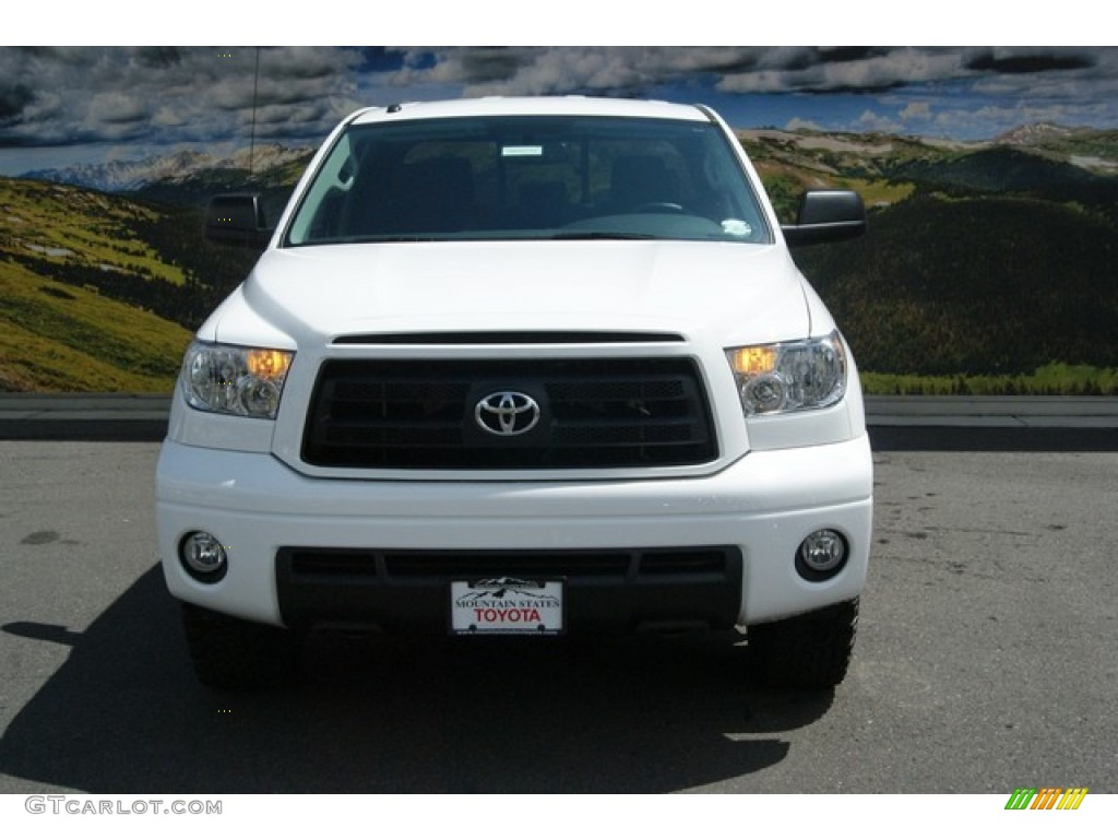 2013 Tundra TRD Rock Warrior Double Cab 4x4 - Super White / Black photo #3