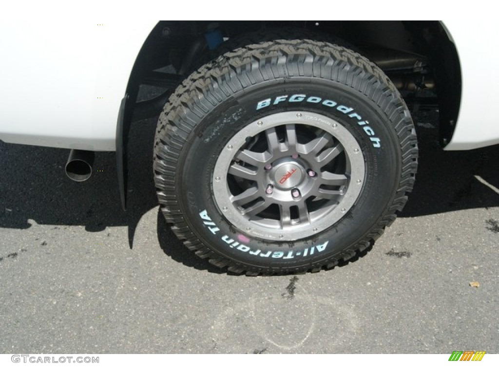 2013 Tundra TRD Rock Warrior Double Cab 4x4 - Super White / Black photo #9