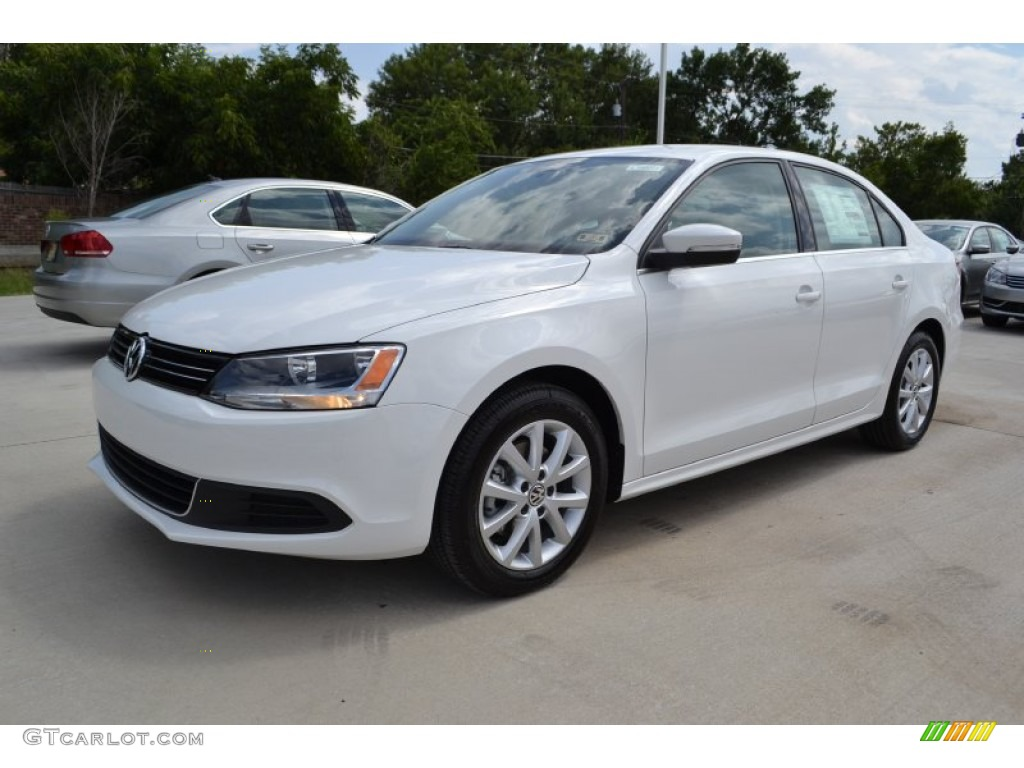 pure white 2014 volkswagen jetta se sedan exterior photo 84607045. Black Bedroom Furniture Sets. Home Design Ideas