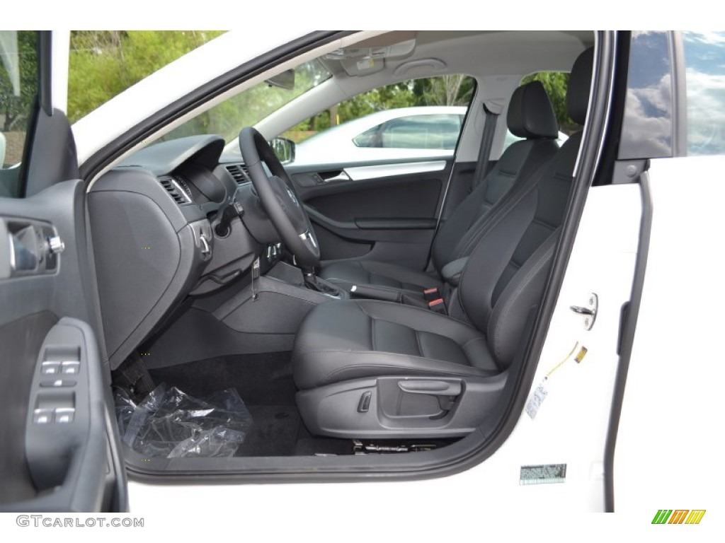 Titan Black Interior 2014 Volkswagen Jetta Se Sedan Photo 84607090