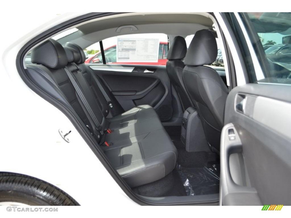 Titan Black Interior 2014 Volkswagen Jetta Se Sedan Photo 84607114