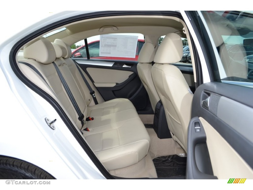 cornsilk beige interior 2014 volkswagen jetta se sedan photo
