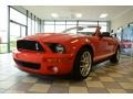2007 Torch Red Ford Mustang Shelby GT500 Convertible  photo #1