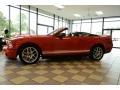2007 Torch Red Ford Mustang Shelby GT500 Convertible  photo #7