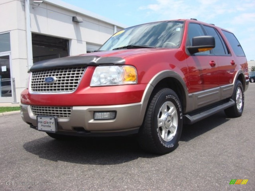 2003 laser red tinted metallic ford expedition eddie bauer. Black Bedroom Furniture Sets. Home Design Ideas
