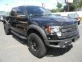 Tuxedo Black Metallic 2012 Ford F150 SVT Raptor SuperCrew 4x4