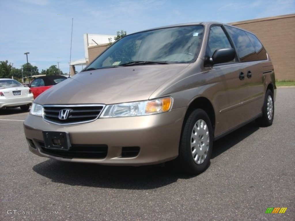 2003 sandstone metallic honda odyssey lx 84618180 car color galleries. Black Bedroom Furniture Sets. Home Design Ideas