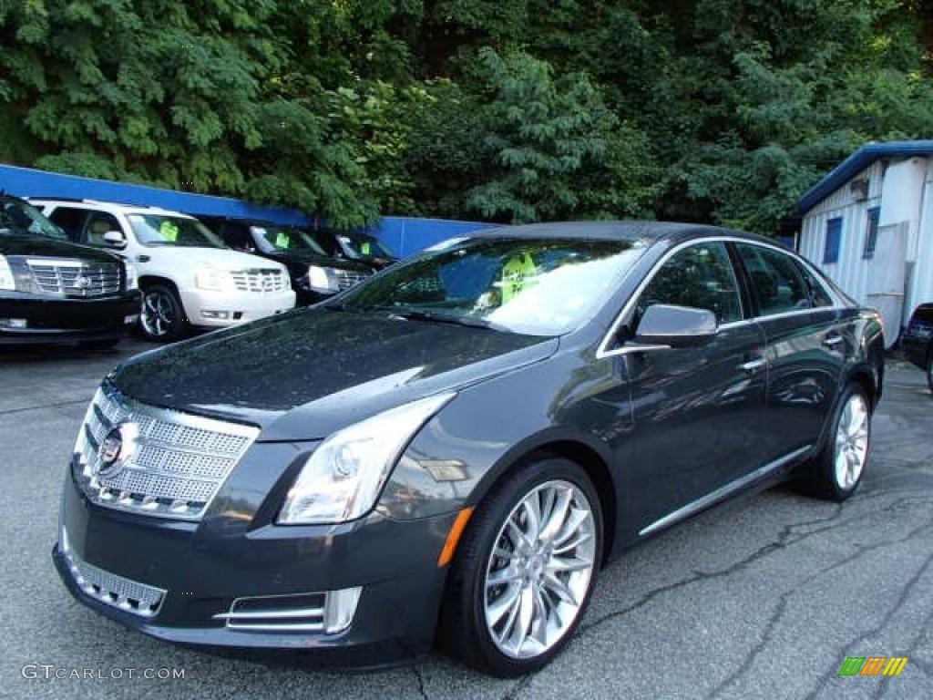2013 Graphite Metallic Cadillac Xts Platinum Awd 84618080 Car Color Galleries