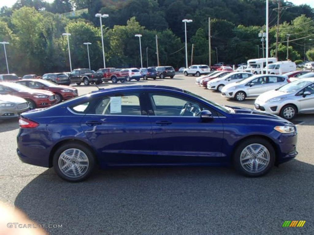2014 Deep Impact Blue Ford Fusion Se 84617666 Gtcarlot Com Car Color Galleries