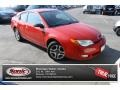 Chili Pepper Red 2004 Saturn ION 3 Quad Coupe