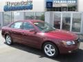 Dark Cherry Red 2008 Hyundai Sonata Gallery