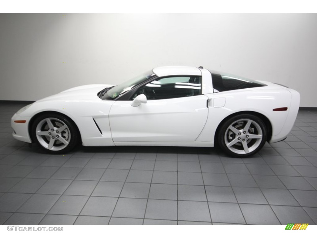 arctic white 2005 chevrolet corvette coupe exterior photo. Black Bedroom Furniture Sets. Home Design Ideas