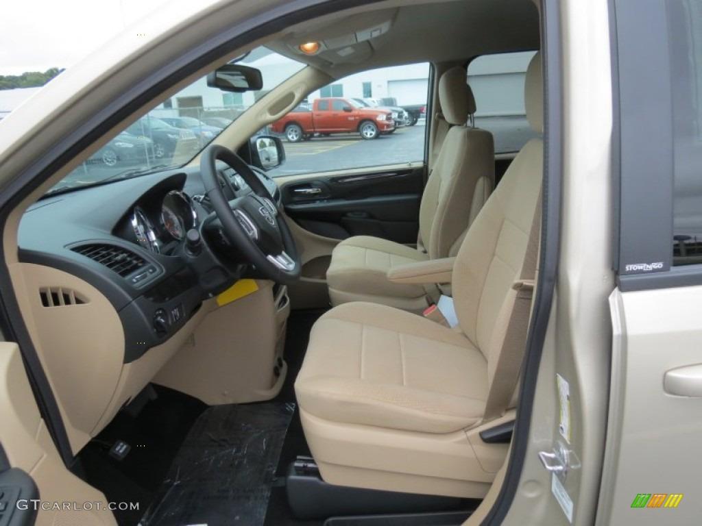 Black Sandstorm Interior 2014 Dodge Grand Caravan Se Photo