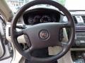 2009 Cadillac DTS Shale/Cocoa Interior Steering Wheel Photo