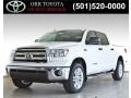 2013 Super White Toyota Tundra SR5 CrewMax 4x4  photo #2
