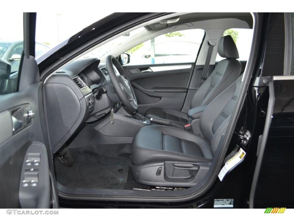 Titan Black Interior 2014 Volkswagen Jetta Se Sedan Photo 84683970