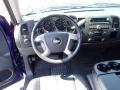 2011 Laser Blue Metallic Chevrolet Silverado 1500 LT Extended Cab 4x4  photo #12