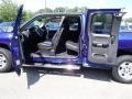 2011 Laser Blue Metallic Chevrolet Silverado 1500 LT Extended Cab 4x4  photo #21
