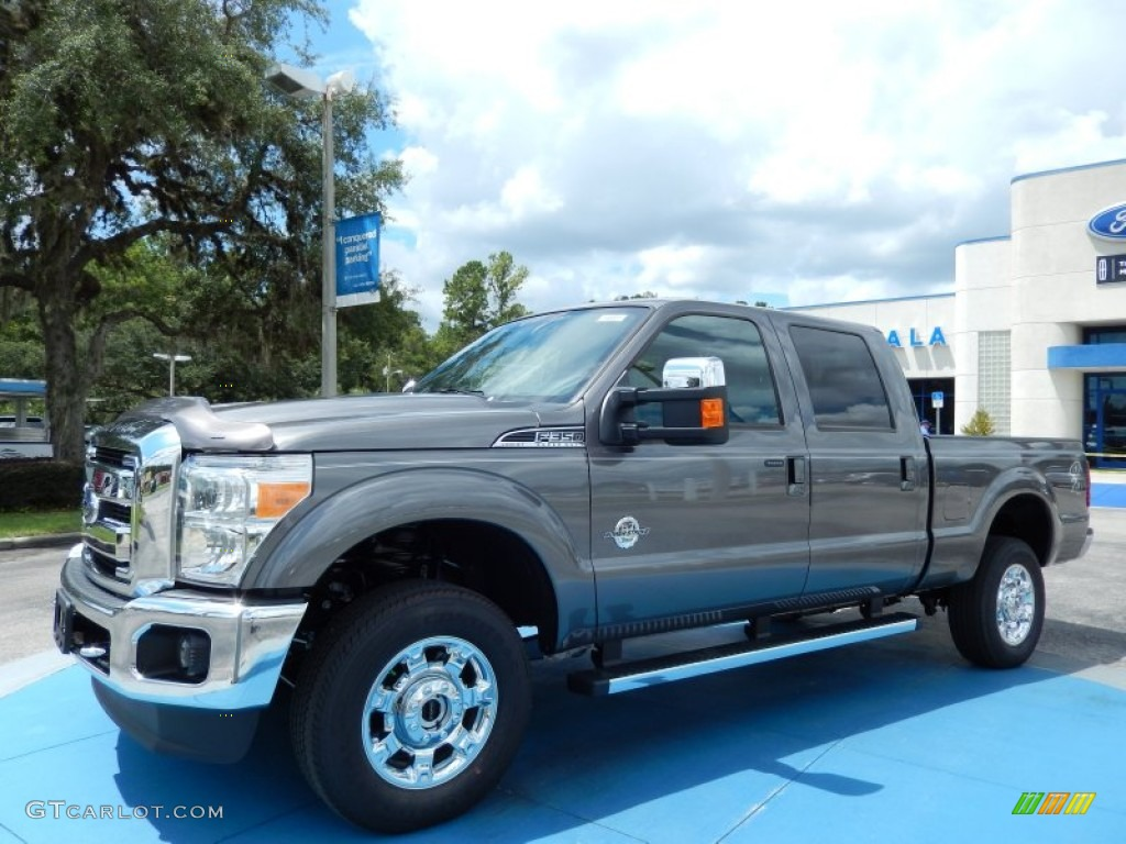 Sterling gray metallic ford f350 super duty