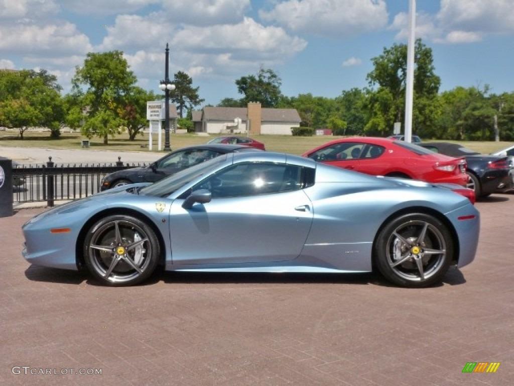 2012 azzuro california blue silver metallic 458