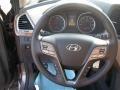 Beige Steering Wheel Photo for 2013 Hyundai Santa Fe #84721180