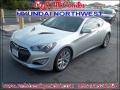 2013 Platinum Metallic Hyundai Genesis Coupe 3.8 Grand Touring  photo #1
