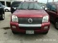 Vivid Red Metallic 2008 Mercury Mountaineer Premier
