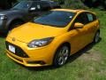2013 Tangerine Scream Tri-Coat Ford Focus ST Hatchback #84713693