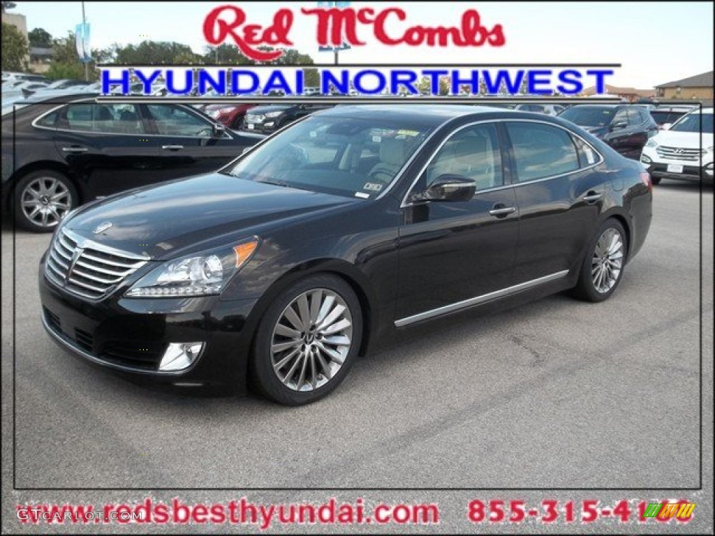 2014 Night Shadow Brown Hyundai Equus Ultimate 84713456