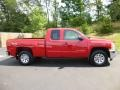 2012 Victory Red Chevrolet Silverado 1500 LS Extended Cab 4x4  photo #8