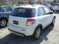 White Water Pearl - SX4 Crossover Touring AWD Photo No. 4