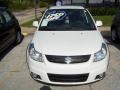 White Water Pearl - SX4 Crossover Touring AWD Photo No. 6