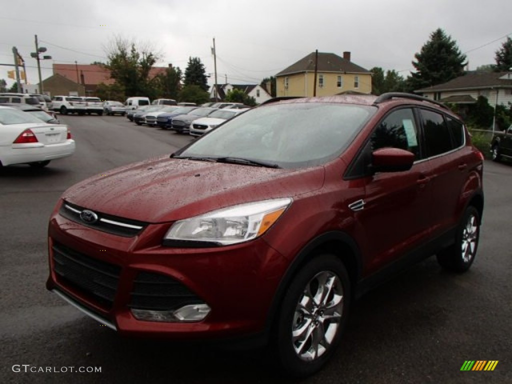 2014 Escape SE 2.0L EcoBoost 4WD - Sunset / Charcoal Black photo #1