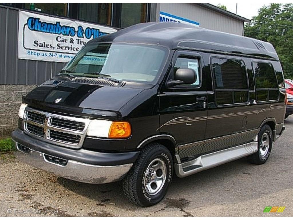 2003 black dodge ram van 1500 passenger conversion 84739325 car color galleries. Black Bedroom Furniture Sets. Home Design Ideas
