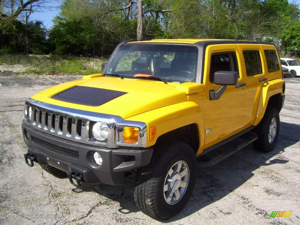 2006 yellow hummer h3 8457289 car color galleries. Black Bedroom Furniture Sets. Home Design Ideas