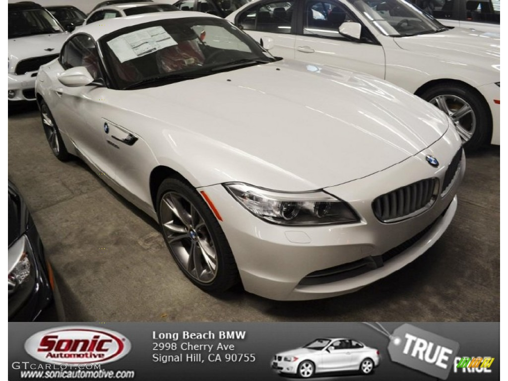 2014 Mineral White Metallic Bmw Z4 Sdrive35i 84739369