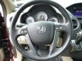 Beige Steering Wheel Photo for 2013 Honda Pilot #84767575