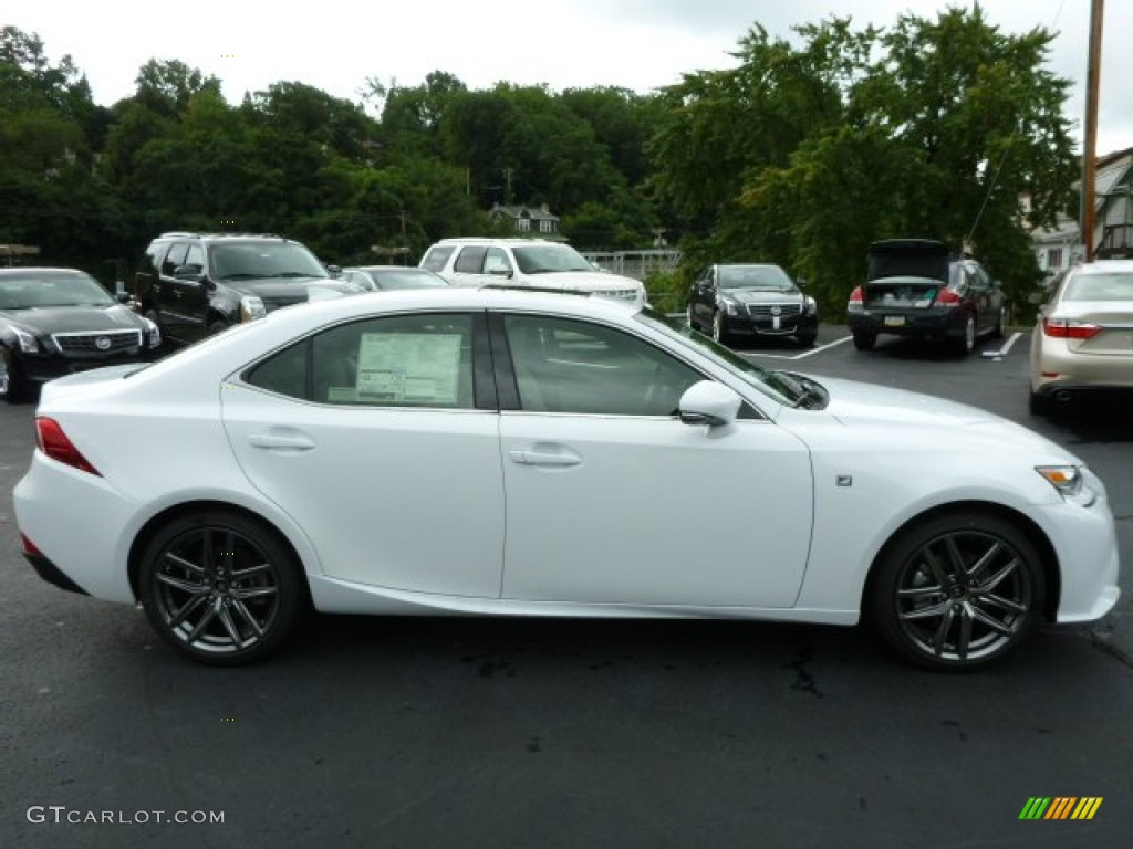ultra white 2014 lexus is 250 f sport awd exterior photo 84781115. Black Bedroom Furniture Sets. Home Design Ideas
