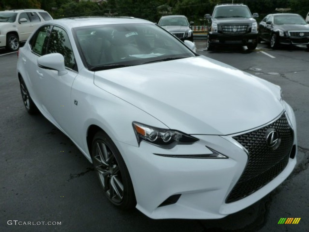 2014 ultra white lexus is 250 f sport awd 84766843 photo 6 car color galleries. Black Bedroom Furniture Sets. Home Design Ideas