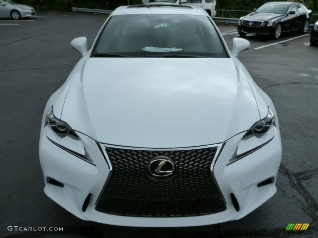 ultra white 2014 lexus is 250 f sport awd exterior photo 84781163. Black Bedroom Furniture Sets. Home Design Ideas