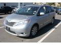 2012 Silver Sky Metallic Toyota Sienna XLE AWD  photo #4