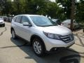 2013 Alabaster Silver Metallic Honda CR-V EX AWD  photo #1